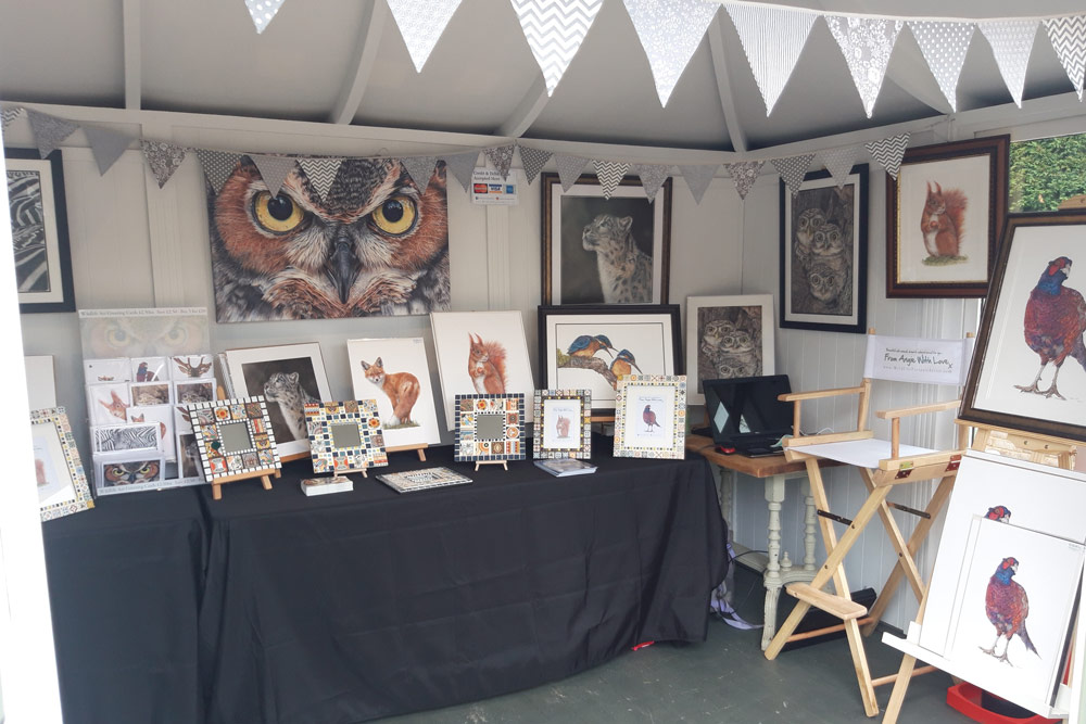Popup wildlife art exhibition and print sale at The Packhouse