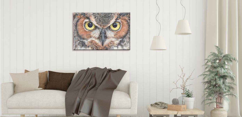 Wildlife Art Prints on Canvas