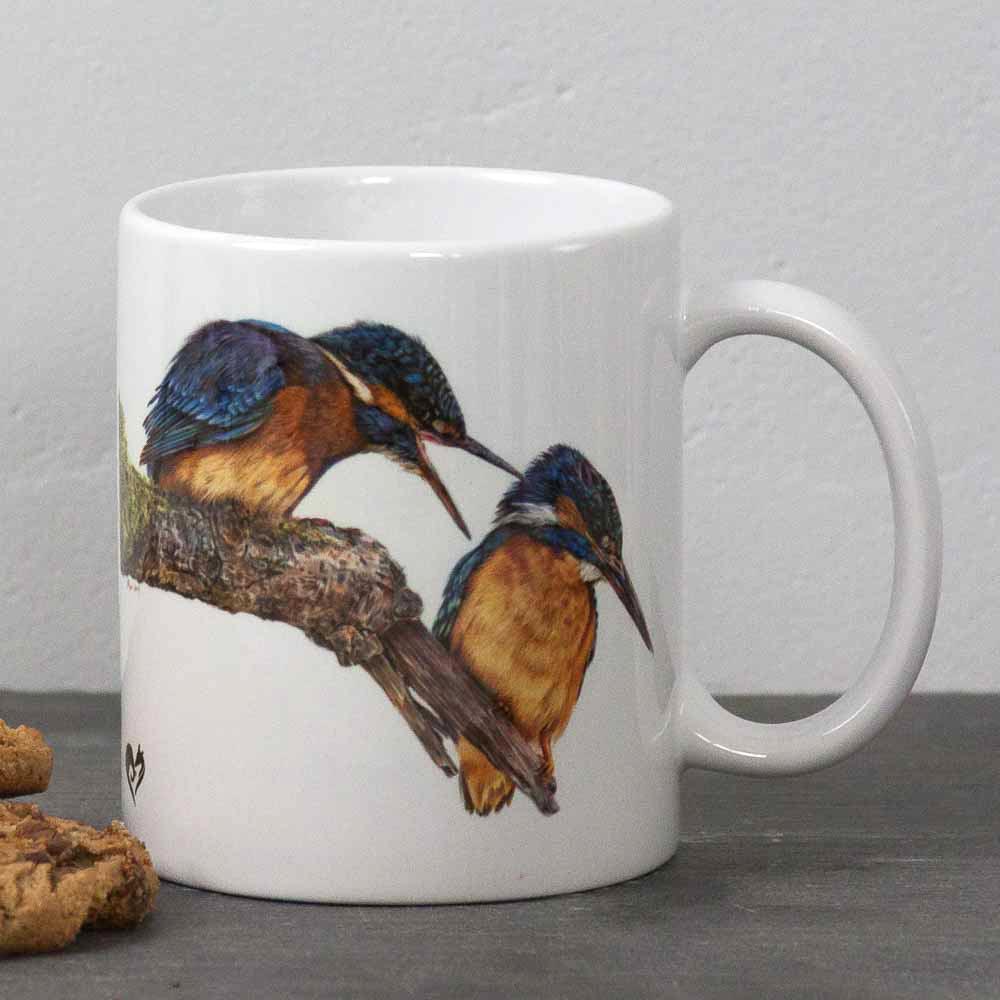 Kingfisher portrait Domestic Bliss Mug