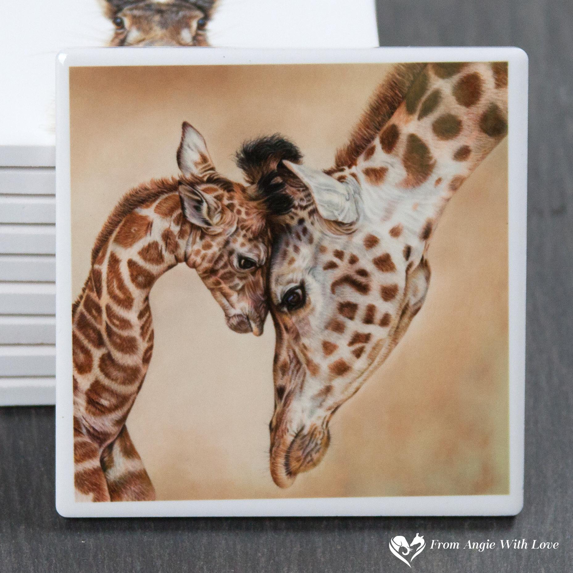 Giraffe Coaster - Tenderness