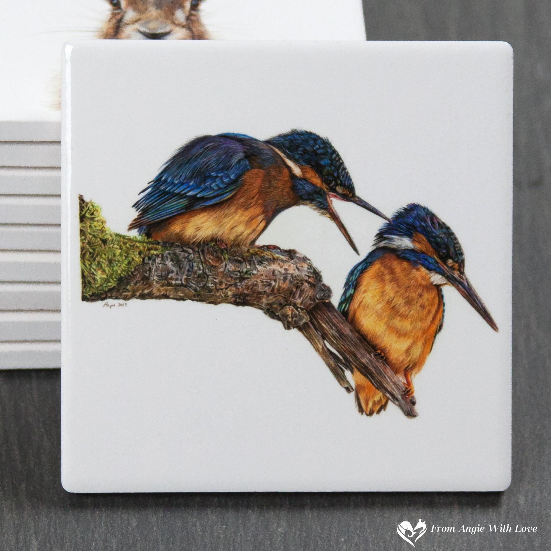 Kingfisher Coaster - Domestic Bliss