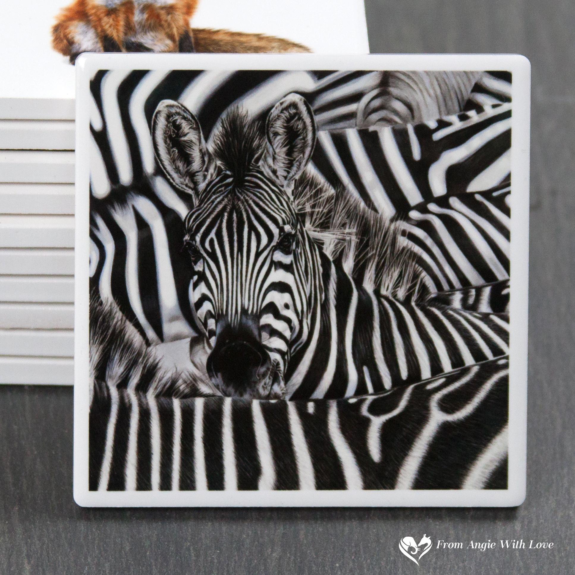 Zebra Coaster - Lost in a Crowd