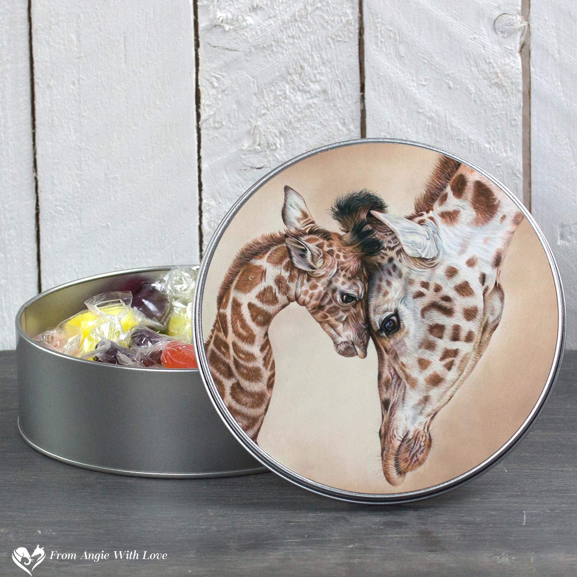 Giraffe Tin - Tenderness