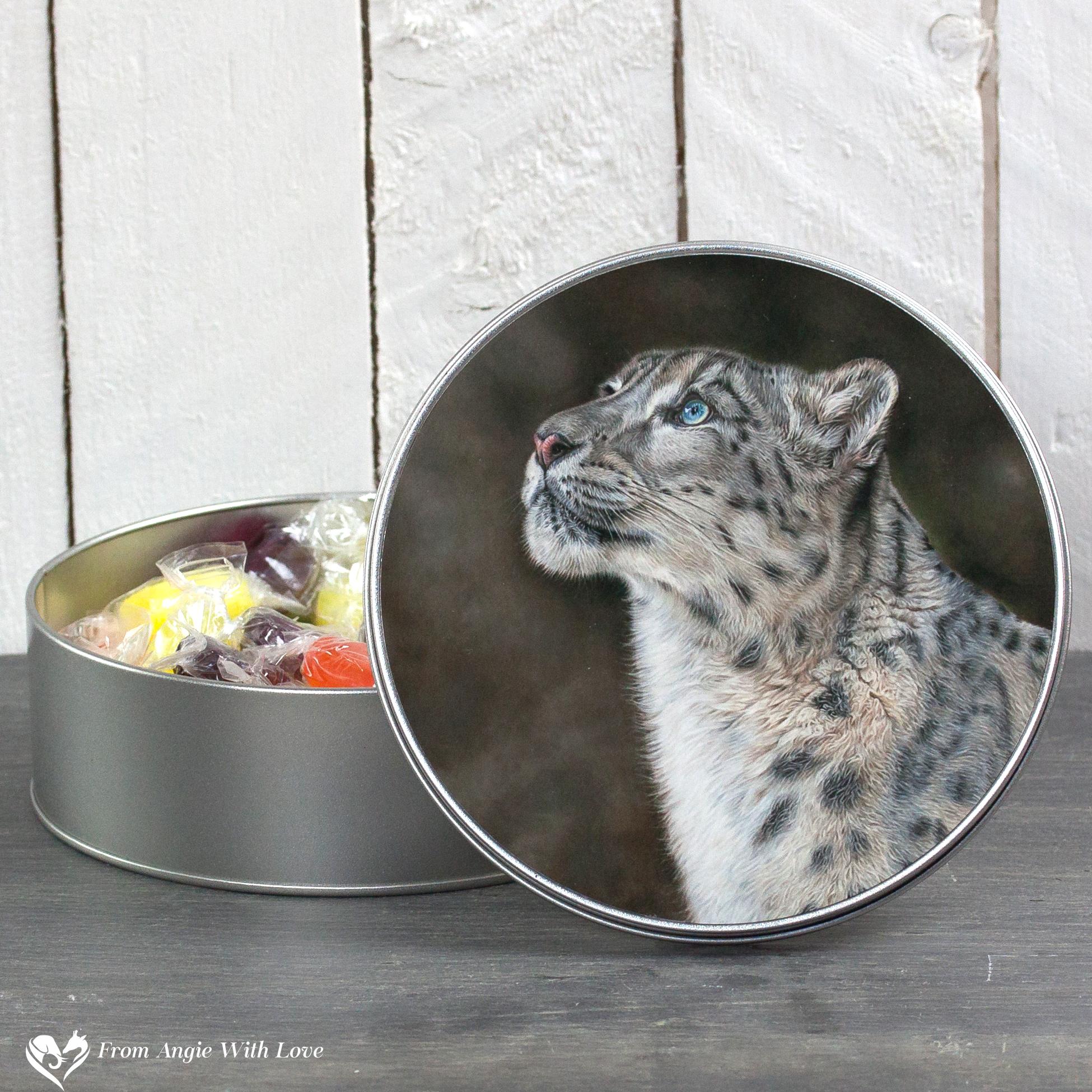 Snow Leopard Tin - Mountain Spirit