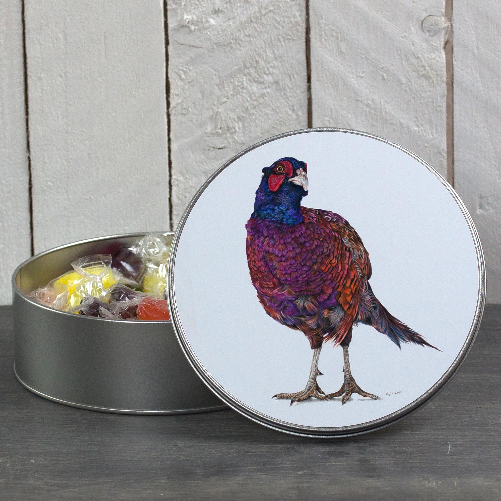 Pheasant Tin - Inquisitive George